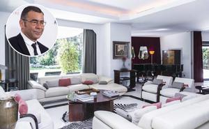 El 'casoplón' que Jorge Javier Vázquez tiene a la venta en Madrid