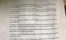 El comunicado del Colegio San Miguel tras apartar a una de sus docentes por una presunta relación con un alumno