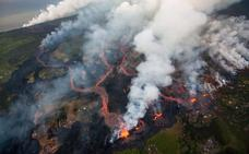 Las espectaculares imágenes de la erupción del Kilauea en Hawái
