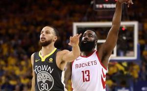 Harden lidera la remontada de los Rockets para empatar la final del Oeste