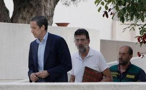 La Guardia Civil traslada a Zaplana a Madrid para registrar su despacho