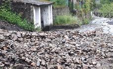 Las intensas lluvias provocan varios argayos en Degaña