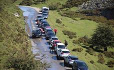 El Principado estudia «suprimir» el transporte individual a los Lagos de Covadonga