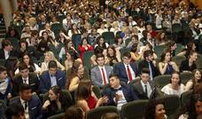 Graduación en el IES Emilio Alarcos