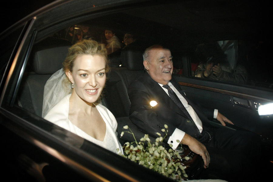 Las imágenes de la boda de Marta Ortega y Sergio Álvarez Moya