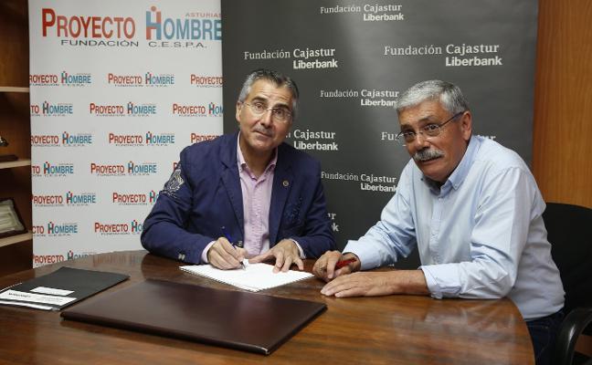 Proyecto Hombre firma un acuerdo con la Fundación Cajastur