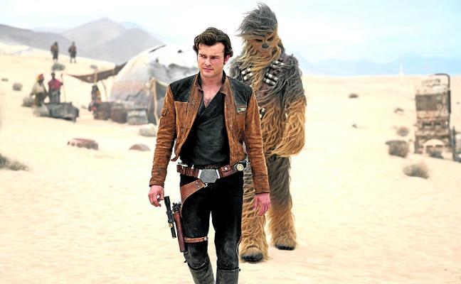 Han Solo y Chewbacca también fueron jóvenes