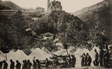 Postales de Covadonga para la historia