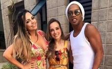 Ronaldinho, sobre los rumores de su boda con dos mujeres: «Es la mayor mentira»