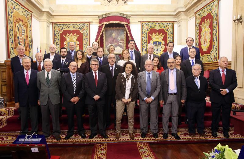 Distinciones en el Colegio de Aparejadores de Asturias