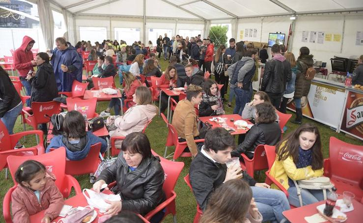 Primera jornada del festival Baldumac en Llanera