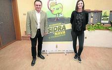 Lucía Astuy firma el cartel del Festival de la Sidra