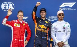 Ricciardo se pone en 'modo Titán'