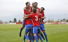 El Sporting B mantiene vivo el sueño (Sporting B 2 - 0 Cornellá)