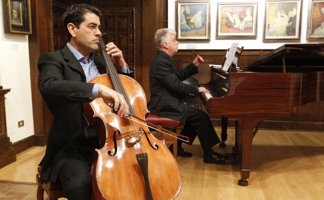 Piano y violonchelo en el Museo Evaristo Valle