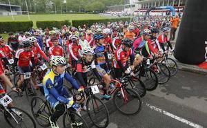 Éxito en la fiesta del ciclismo
