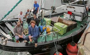 Embarcados en la costera