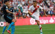 El Rayo gana con agonía al Lugo y obtiene su billete a Primera (1 - 0)
