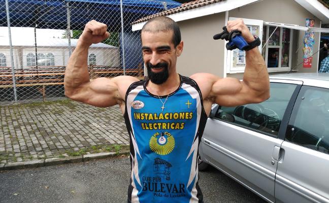 El lavianés Ricardo Melendi gana la carrera de obstáculos Atalaya Race