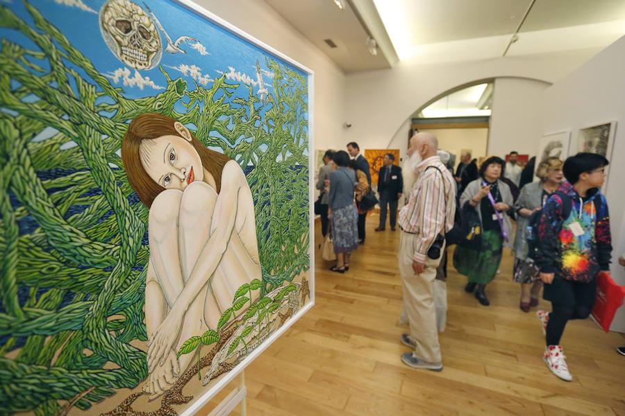 'Japón. Línea y color' sorprende en el Antiguo Instituto