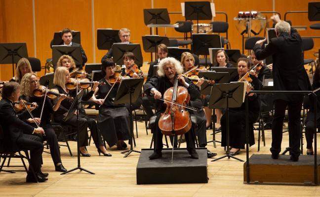 Mischa Maisky llena de música el Auditorio de Oviedo