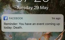 «Hoy te espera la muerte», el recordatorio de Facebook que se ha vuelto viral