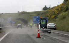 La reparación de la autovía minera entre Gijón y Siero se prolongará durante todo el verano