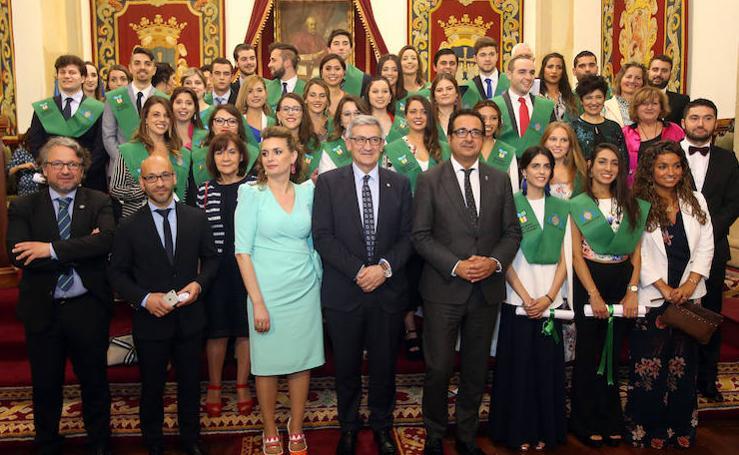 Graduación en la Facultad de de Turismo de Oviedo