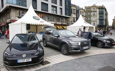 Los coches 'verdes' toman la plaza del Marqués