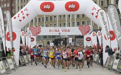 La V Carrera Dona Vida de mañana roza los 850 atletas