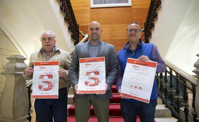 Las 'Santander' series de triatlón llegan a Gijón