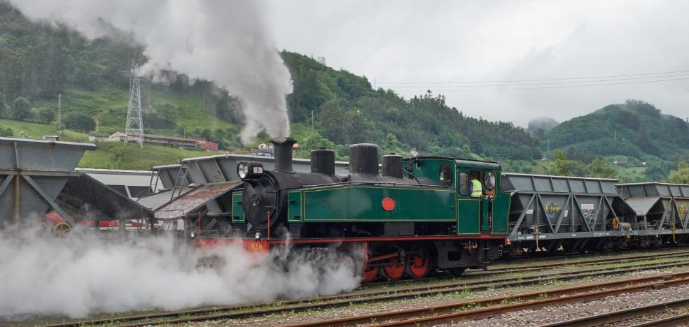 El Tren del Sella ya echa humo