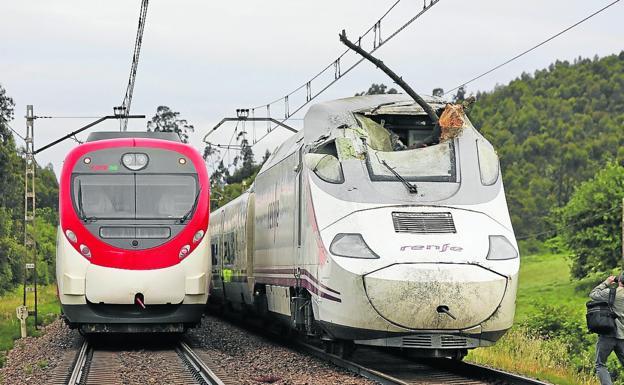 Los ferroviarios achacan el accidente del Alvia a la falta de mantenimiento