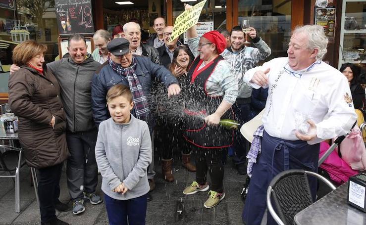 La Lotería de Navidad reparte 34 millones en Candás