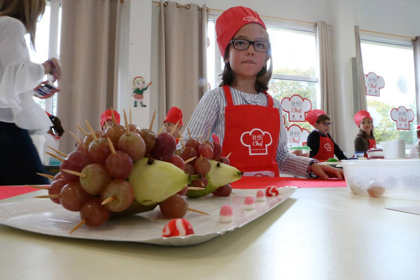 Concurso 'Little Chef' en el Colegio Peñamayor