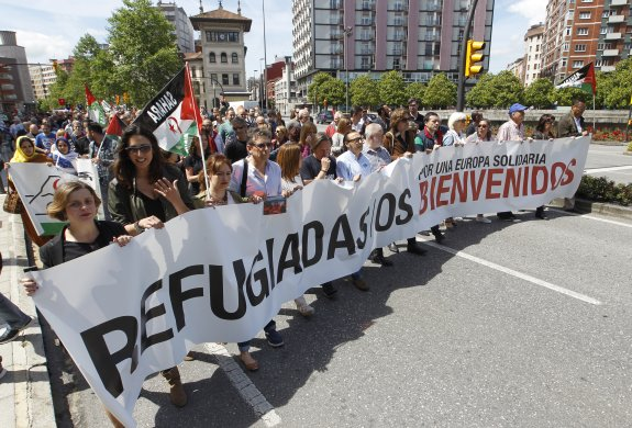 Asturias se moviliza a favor de los refugiados
