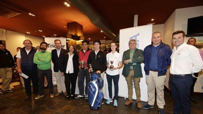 Clasificación final en Club de Golf de Llanes