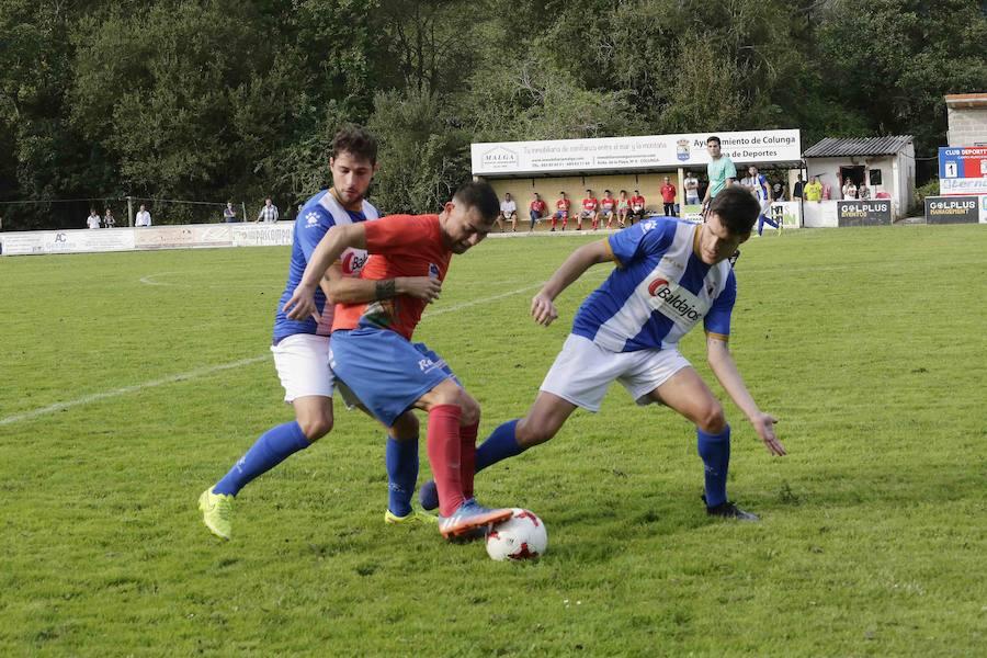 Colunga 3 - 0 Real Avilés, en imágenes