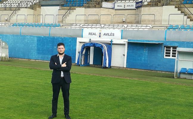 «Estoy muy orgulloso de formar parte de un club histórico como el Real Avilés»