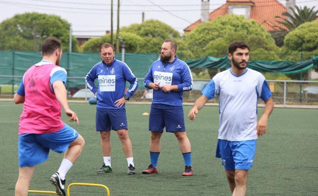 Real Avilés | «Estamos empezando y el equipo tiene mucho margen de mejora»