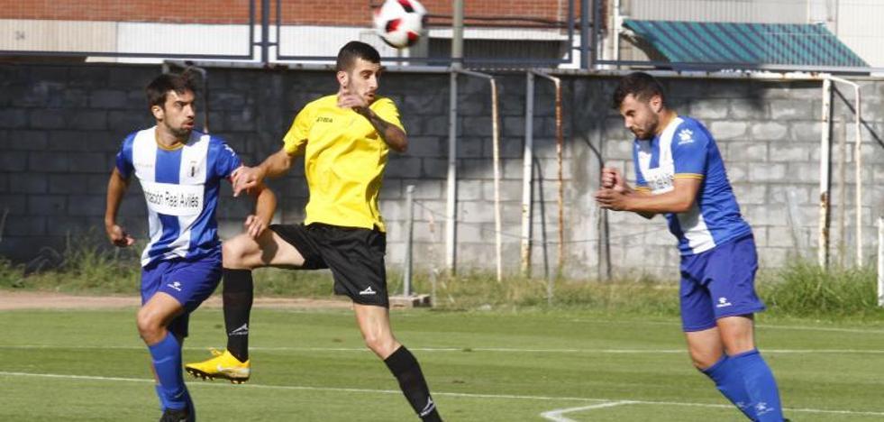 Derrota mínima del Avilés ante L'Entregu (0-1)