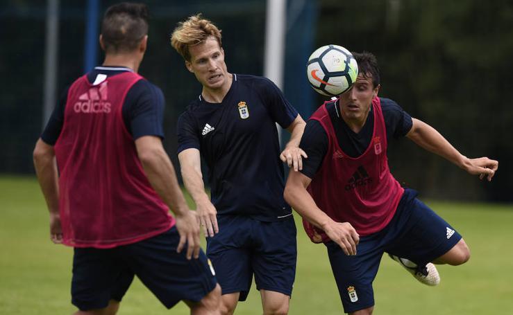 Entrenamiento del Real Oviedo (13-07-2017)