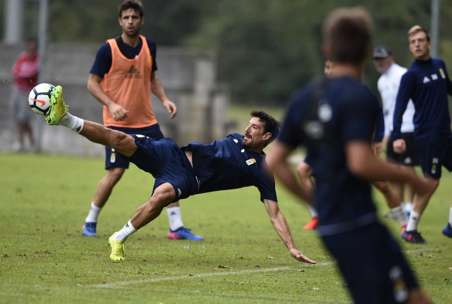 Entrenamiento del Real Oviedo (23-08-2017)