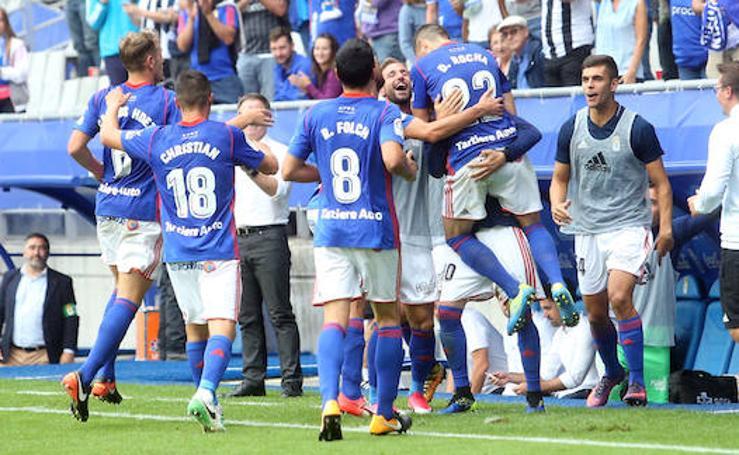 Las mejores imágenes del Real Oviedo - Reus (3-0)