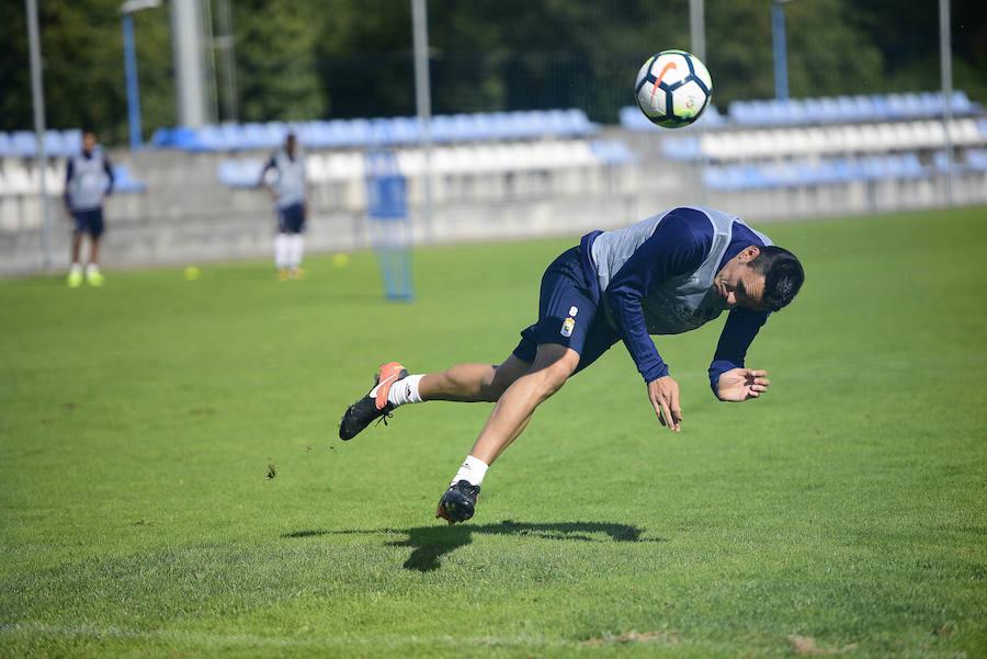 Entrenamiento del Real Oviedo (16-9-17)