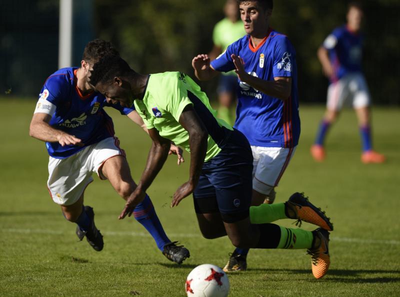 Entrenamiento del Real Oviedo (27/09)