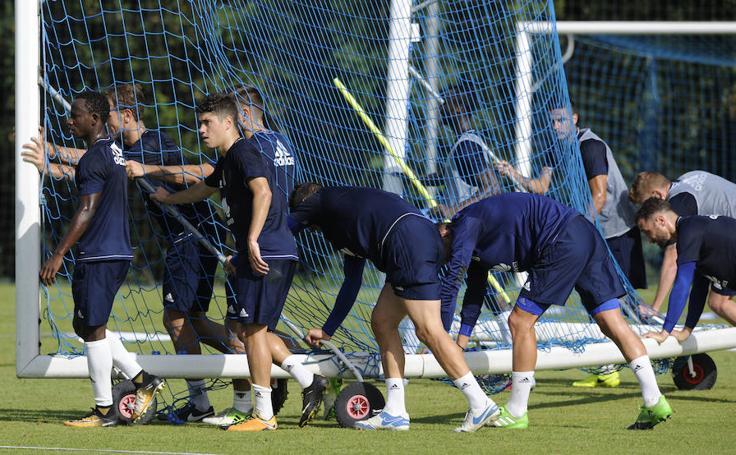 Entrenamiento del Real Oviedo (29-9-17)