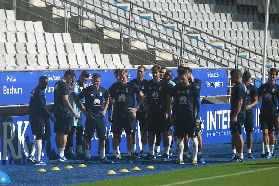 Entrenamiento del Real Oviedo (2-10-17)