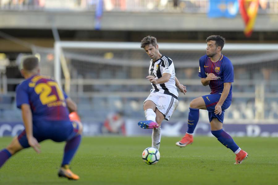 Barcelona B 1 - 1 Real Oviedo, en imágenes