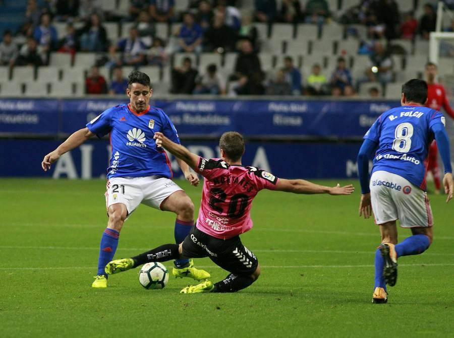 El Real Oviedo-Tenerife, en imágenes